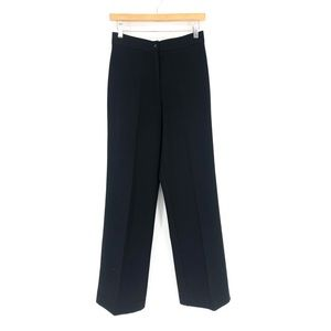 BCBG Maxazria Black Career Pants Work Size 2